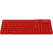 Tastatura silicon Esperanza EK126R Rosu