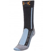 X-Socks Trekking Silver Socks Women Anthracite/Azure 35-36 Socken
