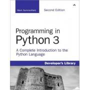 Programming in Python 3 by Mark Summerfield