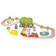 Bigjigs Rail Farm Train Set