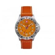 Reloj Wenger Off Road dial naranja correa nylon naranja
