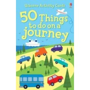 50 Things To Do On A Journey Activity Cards by Rebecca Gilpin