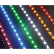 LED Light Strip - 35 - 54 Lights Per Strip - Package of 2 Strips - (1) Red + (1) Green