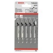 Нож за прободен трион T 101 AO, Clean for Wood, 5 бр., 2608630031, BOSCH