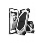 Husa Protectie Spate Ringke Armor Max Ice Silver pentru Apple iPhone 7 si folie protectie display