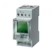 Siemens DIN sínes digitális heti időkapcsoló óra, 1 áramkör, 250V/16A, 56 program, 7LF4421-0 (197208