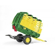 Rolly Toys 122981 - Veicolo a Pedali Caricafieno, 1 Modello Assortito, Verde