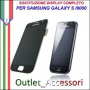 Sostituzione Display Samsung Galaxy S I9000 Lcd Vetro Rotto Riparazione Cambio Assemblaggio GT-I9000
