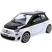 Motormax 1:18 Fiat 500 Abarth Die cast Model Car