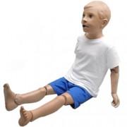 manichino simulatore per la cura del bambino - corpo intero - peso 9kg