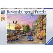 Puzzle O SEARA IN PARIS 500 piese Ravensburger
