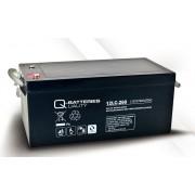 Batería de plomo AGM cíclica 12v 278Ah 12LC-260 Q-Batteries