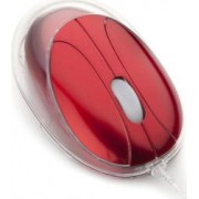 Mouse Laptop Optic NGS VIP Red