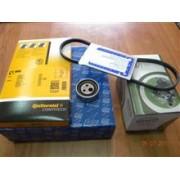 Kit distributie+pompa+curea alternator Logan 1.4 cu servodirectie si aer conditionat