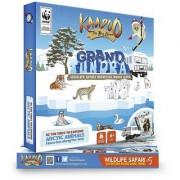 Kaadoo Wildlife Safari Adventure Board Game Grand Tundra-Arctic Circle Edition - Fun