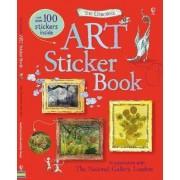 Art Sticker Book by Sarah Courtauld