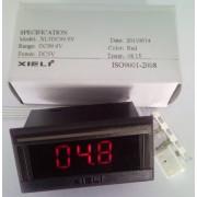 Voltmetru digital XL3DC99.9V_5Vcc