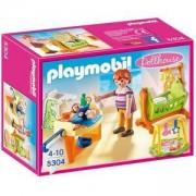 Комплект Плеймобил 5304 - Бебешка стая с люлка - Playmobil, 291252