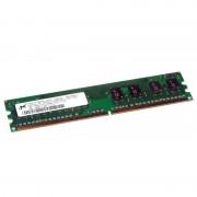 1Go RAM MICRON MT8HTF12864AY-667E1 240-Pin DIMM DDR2 PC2-5300U 667Mhz 1Rx8 CL6