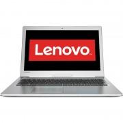 "Notebook Lenovo IdeaPad 510, 15.6"" Full HD, Intel Core i7-7500U, 940MX-4GB, RAM 8GB, HDD 1TB, Free DOS, Argintiu"