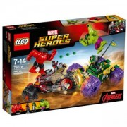 Конструктор ЛЕГО СУПЕР ХИРОУС - Хълк срещу Червения Хълк, LEGO Super Heroes, 76078