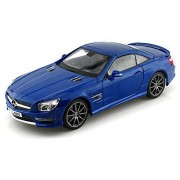 2012 Mercedes Benz Sl Amg63 Hard Top 1/18 Blue