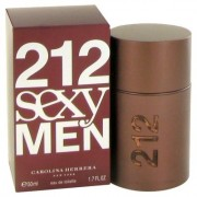 212 Sexy For Men By Carolina Herrera Eau De Toilette Spray 1.7 Oz