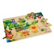 Simba 100003328 - Puzzle in legno, a incastro, motivo: Disney Winnie the Pooh