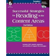 Successful Strategies for Reading in the Content Areas: Secondary by Shell Education