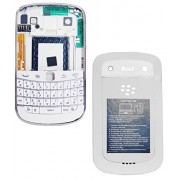 YGS High Quality Full Body Housing Panel Faceplate For BlackBerry Bold Touch 9900 -White