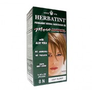 HERBATINT PERMANENT HERBAL HAIRCOLOUR GEL (8N - Light Blonde) 1 or 2 Applications