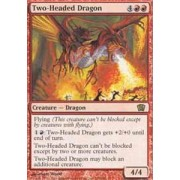 Magic: The Gathering Two Headed Dragon Eighth Edition Foil