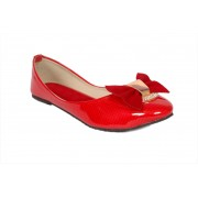 Studio 9 Check Patent Ballerina Bellies(Red)