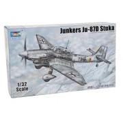 Trumpeter 03217 - Modellino Junkers Ju - 87d Stuka