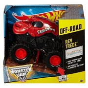 Hot Wheels Monster Jam Rev Tredz Crushstation Truck by Hot Wheels