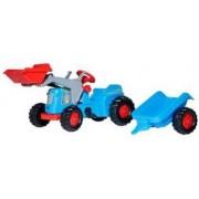 Rolly Toys 630042 RollyKiddy Classic Tractor met Lader en Aanhanger