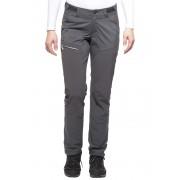 Haglöfs Lite Hybrid - Pantalon Femme - Fermetures à glissière gris XXL Pantalons softshell