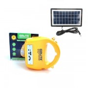 Kit Solar Lanterna cu Radio MP3 Card Reader si USB Gdlite GD7655B
