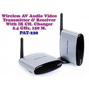 DivineXt 2.4 GHz. 150M. Wireless AV. Audio Video Transmitter Receiver Kit For TV, Projector, CCTV & STB
