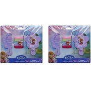 Disney Frozen Hair Accessory Set X 2 (Comb Mirror and 5 hair bands)