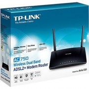 TP-LINK Archer D20 AC750 Wireless Dual Band ADSL2+ Modem Router