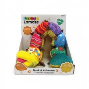 Lamaze Musical Inchworm - Red - L27107