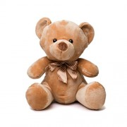 Mumbles Velvet Bear (Small, Brown) by Mumbles