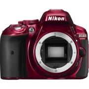 Aparat Foto D-SLR NIKON D5300 (Rosu), Body, Filmare Full HD, 24.2MP