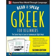 Read and Speak Greek for Beginners [With CD]