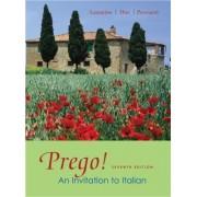 Workbook to accompany Prego! An Invitation to Italian by Graziana Lazzarino