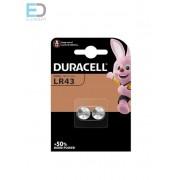 Duracell LR43 1,5 V 186/V12GA gombelem BL/2
