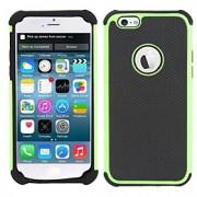 para o iphone 7 novo 3 em 1 projeto da linha de futebol de silício pc colorido tampa da caixa traseira para o iphone para 6 / 6s