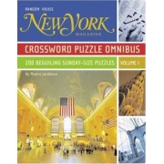 New York Magazine Crossword Puzzle Omnibus by Maura Jacobson