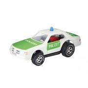 Darda 50331 - Macchinina della polizia, ca. 7,7 cm, colore: Verde